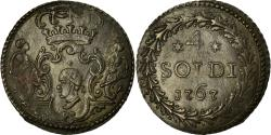 World Coins - Coin, ITALIAN STATES, CORSICA, General Pasquale Paoli, 4 Soldi, 1767, Murato