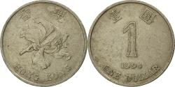 World Coins - Coin, Hong Kong, Elizabeth II, Dollar, 1994, , Copper-nickel, KM:69a