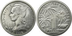 World Coins - Coin, Comoros, Franc, 1964, Paris, ESSAI, , Aluminum, KM:E1