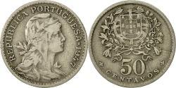 World Coins - Portugal, 50 Centavos, 1947, , Copper-nickel, KM:577