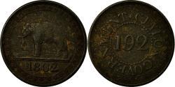 World Coins - Coin, Ceylon, 1/192 Rixdollar, 1802, , Copper, KM:73