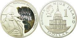 World Coins - Coin, Niue, Elizabeth II, Napoléon Bonaparte, Dollar, 2010, New Zealand, BE