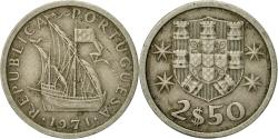 World Coins - Coin, Portugal, 2-1/2 Escudos, 1971, , Copper-nickel, KM:590