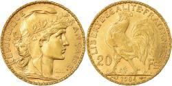World Coins - Coin, France, Marianne, 20 Francs, 1904, Paris, , Gold, KM:847