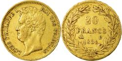 World Coins - Coin, France, Louis-Philippe, 20 Francs, 1831, Rouen, , Gold, KM:746.2