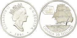 World Coins - Coin, Canada, Elizabeth II, 20 Dollars, 2001, Royal Canadian Mint, Ottawa