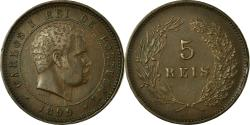World Coins - Coin, Portugal, Carlos I, 5 Reis, 1899, , Bronze, KM:530