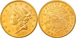 Us Coins - Coin, United States, Liberty Head, $20, Double Eagle, 1873, U.S. Mint