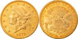 Us Coins - Coin, United States, Liberty Head, $20, Double Eagle, 1879, U.S. Mint, San