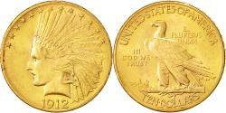 Us Coins - Coin, United States, Indian Head, $10, Eagle, 1912, U.S. Mint, Philadelphia