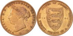 World Coins - Jersey, Victoria, 1/24 Shilling, 1894, , Bronze, KM:7
