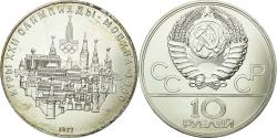 World Coins - Coin, Russia, 10 Roubles, 1977, Saint-Petersburg, , Silver, KM:149
