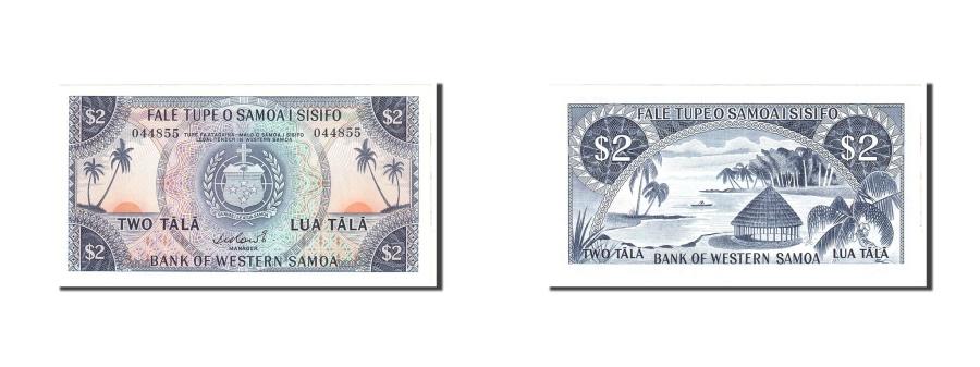 World Coins - Western Samoa, 2 Tala, 1967, KM:17b, Undated, UNC(65-70)