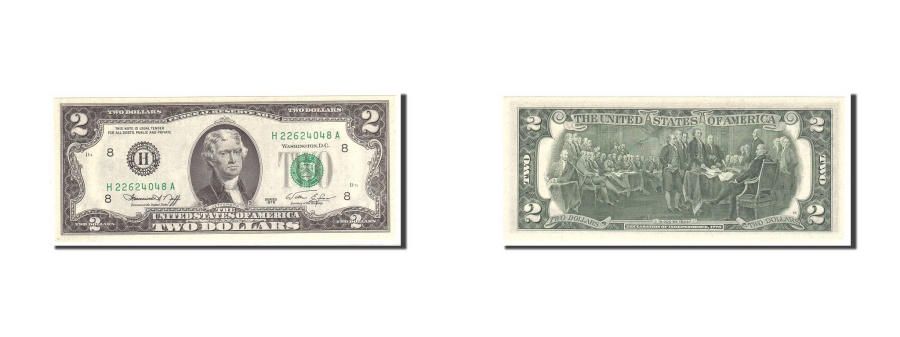 US Coins - United States, Two Dollars, 1976, KM:1634, Undated, UNC(65-70)