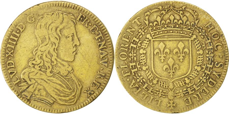 World Coins - France, Royal, Token, , Brass, 27, 7.00