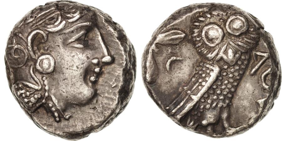 Ancient Coins - Attica, Tetradrachm, 393-295 BC, Athens, , Silver, SNG Cop:63