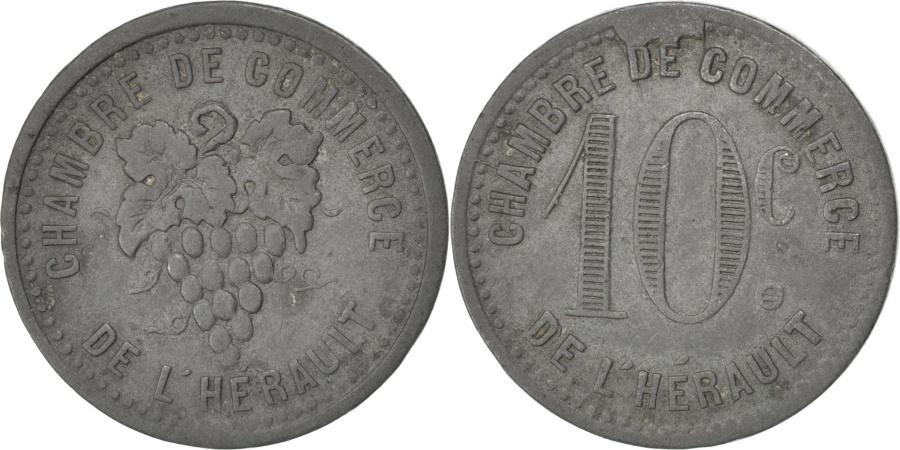 World Coins - France, 10 Centimes, , Zinc, Elie #10.2, 4.11