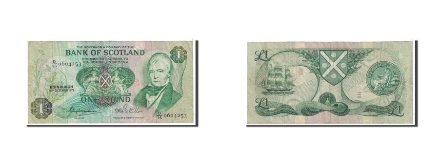 World Coins - Scotland, 1 Pound, 1979, KM:111d, 1979-10-15, VF(20-25)