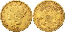 Us Coins - United States, Liberty Head, $20, Double Eagle, 1884, U.S. Mint, Carson City