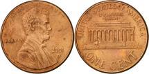 Us Coins - United States, Lincoln Cent, Cent, 2001, U.S. Mint, Denver, AU(55-58), Copper