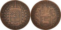World Coins - France, Token, Royal, Maire de Dijon, Jacques de Frasans, 1662, EF(40-45)