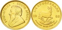 World Coins - Coin, South Africa, 1/4 Krugerrand, 1982, MS(60-62), Gold, KM:106