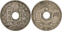 France, Lindauer, 10 Centimes, 1928, EF(40-45), Copper-nickel, KM:866a