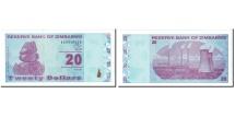 Zimbabwe, 20 Dollars, 2009, KM:95, UNC(65-70)