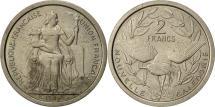 World Coins - New Caledonia, 2 Francs, 1949, Paris, ESSAI, AU(55-58), Copper-nickel, KM:E9