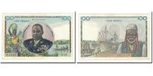 World Coins - Banknote, French Equatorial Africa, 100 Francs, 1957, Undated, KM:32, AU(55-58)