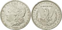 Us Coins - United States, Morgan Dollar, 1885, U.S. Mint, New Orleans, EF(40-45), KM 110