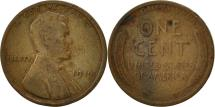 Us Coins - United States, Lincoln Cent, Cent, 1919, U.S. Mint, Philadelphia, EF(40-45)