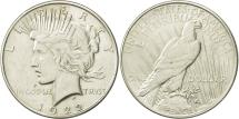 Us Coins - United States, Peace Dollar, 1922, U.S. Mint, Philadelphia, EF(40-45), KM 150