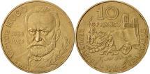 World Coins - France, Victor Hugo, 10 Francs, 1985, Paris, AU(50-53), Nickel-Bronze, KM:956