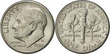 Us Coins - United States, Roosevelt Dime, Dime, 1988, U.S. Mint, Denver, AU(55-58)