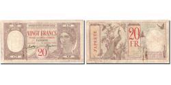 World Coins - Banknote, Tahiti, 20 Francs, Undated (1928), KM:12c, VF(20-25)