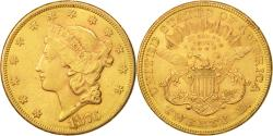 Us Coins - United States, Liberty Head, $20, 1876, Philadelphia, , Gold, KM:74.2
