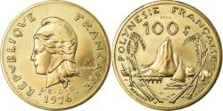 World Coins - Coin, French Polynesia, 100 Francs, 1976, Paris, ESSAI,