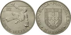 World Coins - Coin, Portugal, 25 Escudos, 1982, Lisbon, , Copper-nickel, KM:616