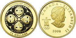 Ancient Coins - Coin, Canada, Elizabeth II, 75 Dollars, 2008, Royal Canadian Mint, Proof