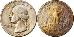 Us Coins - Coin, United States, Washington Quarter, Quarter, 1942, U.S. Mint, Philadelphia
