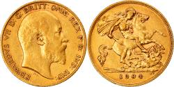 World Coins - Coin, Great Britain, Edward VII, 1/2 Sovereign, 1904, London, , Gold