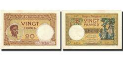 World Coins - Banknote, Madagascar, 20 Francs, 1937-1947, KM:37, UNC(63)