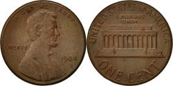 Us Coins - United States, Lincoln Cent, Cent, 1984, U.S. Mint, Philadelphia,