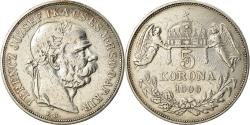 World Coins - Coin, Hungary, Franz Joseph I, 5 Korona, 1900, Kormoczbanya, , Silver