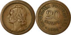 World Coins - Coin, Portugal, 20 Centavos, 1925, , Bronze, KM:574