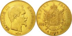 Ancient Coins - Coin, France, Napoleon III, 100 Francs, 1858, Paris, , Gold, KM 786.1