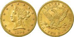 Us Coins - Coin, United States, Coronet Head, $10, Eagle,1894,Philadelphia,,KM 102