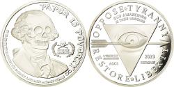Us Coins - United States of America, Medal, Oppose Tyranny, Restore Liberty, Skull, 2013