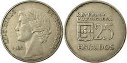 World Coins - Coin, Portugal, 25 Escudos, 1985, , Copper-nickel, KM:607a
